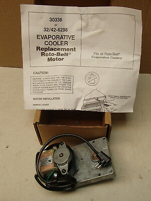 replacement roto-belt motor 30336 or 32/42-6298 for evaporative cooler, NEW