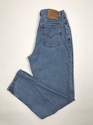Levis Vintage 550 Relaxed Tapered High Rise Mom Jeans Size 14 L 30 X 32