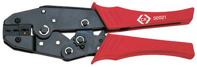 CK Ratchet Crimping/Crimper Pliers For Insulated Terminals 0.5mm - 6mm, 430021