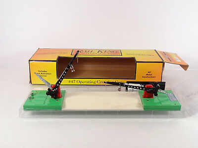 MTH RailKing O Scale No 47 Operating Crossing Gate Item 30-1087 New
