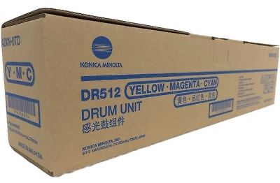 Konica Minolta DR512 Color Drum - for C224 C284 C364 C454 C554 / E