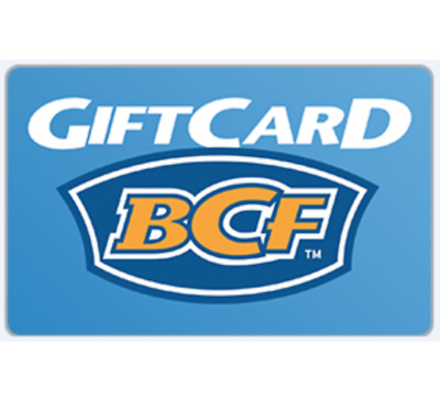 BCF Gift Card $20 $50 or $100 - Email Delivery