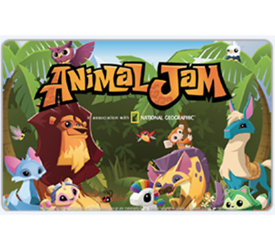 Animal Jam 3-Mo Subscription $15 Gift Card - Fast Email Delivery