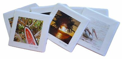 NEW Quality 6 pack Greeting Card Pack Beach Water Ocean Theme Summer