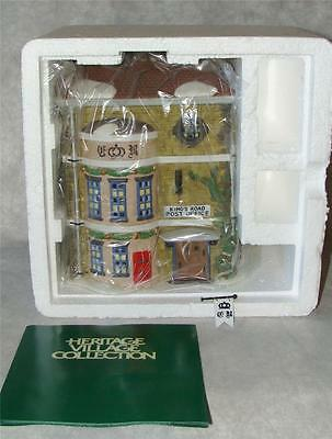 Dept 56 King's Road Post Office Dickens Village w/orig box 58017