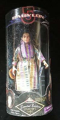 "VIR COTTO BABYLON 5 Limited Edition Collector's Series 9"" Posable Figure NIB"