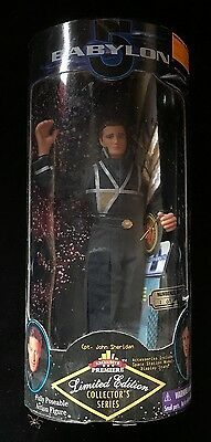 "JOHN SHERIDAN BABYLON 5 Limited Edition Collector's Series 9"" Posable Figure NIB"