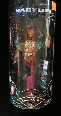 "AMB. G'KAR BABYLON 5 Limited Edition Collector's Series 9"" Posable Figure NIB"