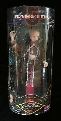 "LENNIER BABYLON 5 Limited Edition Collector's Series 9"" Posable Figure NIB"