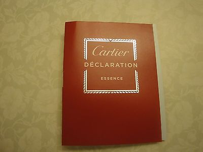 Cartier Declaration Essence Eau de Toilette EDT Travel Sample Spray - New