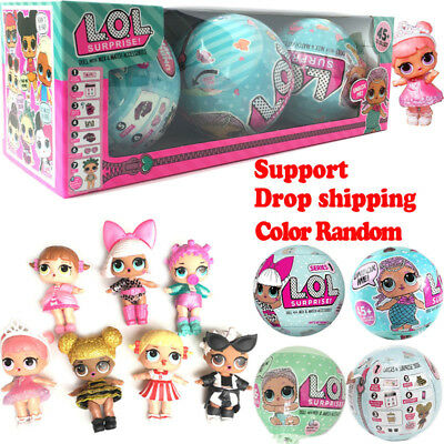 LOL Baby Surprise Doll SERIES 1 DOLL L.O.L Big Sisters 95mm Ball Doll Xmas Gifts