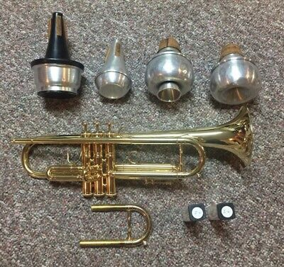 Flip Oakes Wild Thing Bb Trumpet Gold Plated