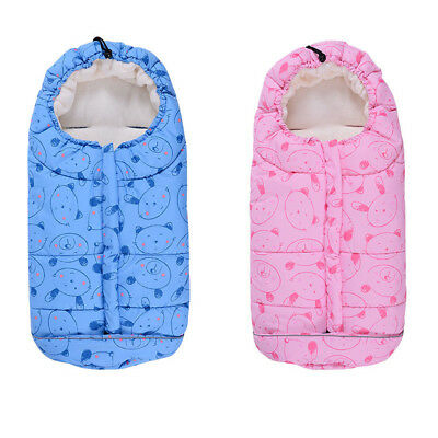 Baby Infant Footmuff Sleeping Bag Pushchair Pram Stroller Car Seat Cot Bed Cosy