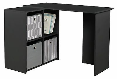 HOME Calgary Corner Desk - Black.
