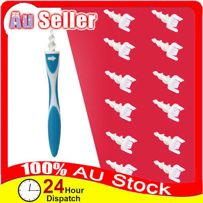 Smart Ear Wax Remover Cleaner Removal Swab Earwax Spiral Safe Soft Tool