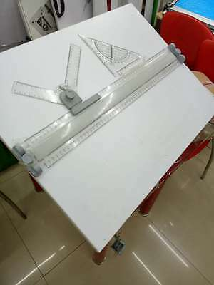 A2 Drawing Board Drafting Table With Angle Parallel Motion+Measuring system