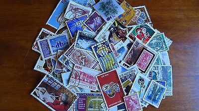 Worldwide stamp accumulation, kiloware ,1 oz around 500 off paper stamps, AC103