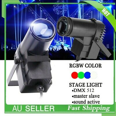 Mini LED RGB Pin Spot Stage Lights Color Changing Disco DJ Light up Wedding Part