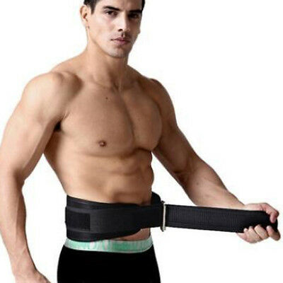 Weight Lifting Belt Gym Training Back Support Power Lumbar Pain Fitness Strength