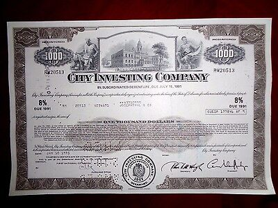 City Investing Company 1975  bond