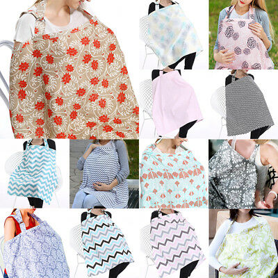 New Baby Infant Breastfeeding Blanket Nursing Cover Mother Outdoor Cotton Towel