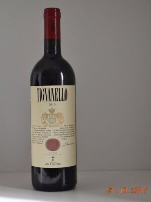Red wine - Vino rosso TIGNANELLO 2010 750ml Toscana