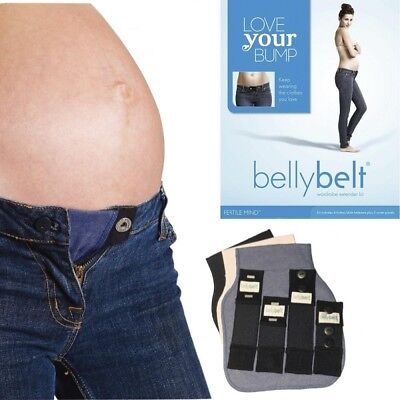 Love Your Baby Bump Belly Belt Pregnancy Maternity wardrobe extender Kit