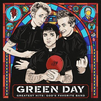 Green Day 'greatest Hits : God's Favorite Band' Cd (2017)
