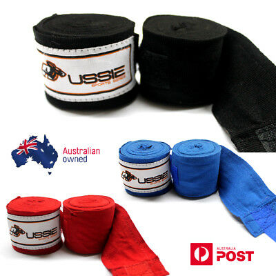 Aussie Pro hand wraps pair 3.5 metres for Boxing, MMA, Kickboxing and Muay Thai