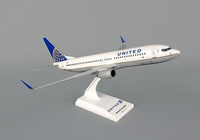 Skymarks United Airlines 737-800 1/130 Scale Plane with Stand