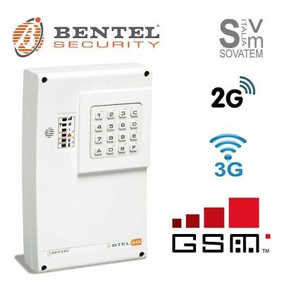 Combinatore telefonico Bentel BTEL-GSM 2G/3G vocale SMS 4 canali