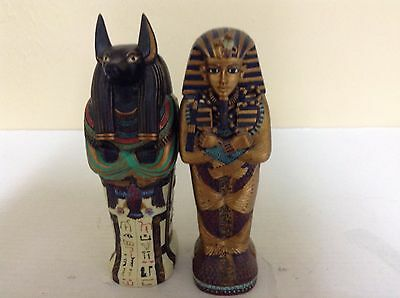 Egyptian Boy King Tut & Anubis Tombs With Mummies                           #904