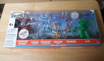 New Factory Sealed Mattel Robots Figure Pack In Package