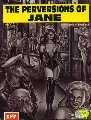BD adultes  The perversions of Jane (version anglaise)