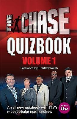 New The Chase Quizbook Volume 1: The Chase is on! [Hardcover] [Oct 08, 2015] ITV