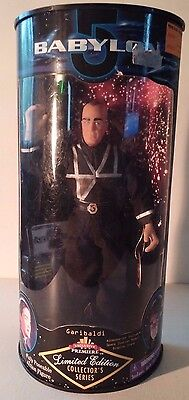 "NEW IN BOX~BABYLON~GARIBALDI~Ltd Ed Collector's Series Poseable Action 9"" Figure"