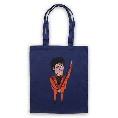 King Of Pop Illustration Unofficial Michael Jackson Tote Bag Life Shopper