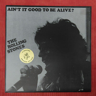 Rolling Stones Ain't It Good To Be alive horny bungle rec 001 Vinyl Single