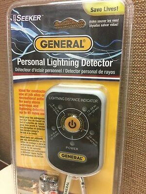 General LD7 - *NEW* Lightning Seeker Personal Lightning Detector