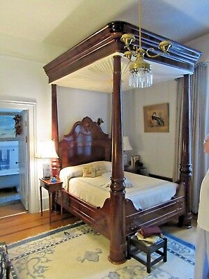Prudent Mallard Four Poster Bed. Rare And Wonderful!!