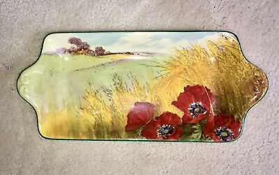 Royal Doulton Poppies In A Cornfield Sandwich Tray