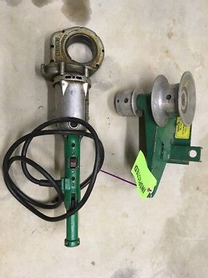 Greenlee 442 Porta-Puller Wire Cable Tugger 440 Threader Pony Ridgid 700 Maxis