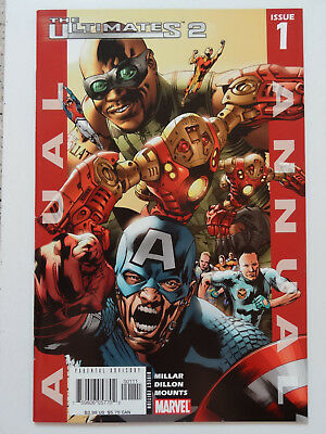 Ultimates Annual #1  (Marvel Comics, 2005)  ($2.95 Shipping)