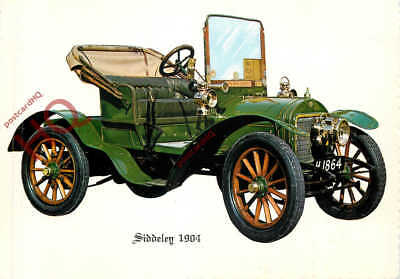 Picture Postcard:-VINTAGE CAR, SIDDELEY 1904 [VALENTINE'S]