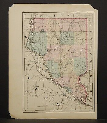 Wisconsin Buffalo or Clark County 1876 Single Special Price L15#07