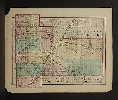 Wisconsin Jackson or Trempealeau County 1876 Single Special Price L15#08