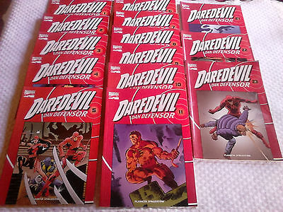 coleccion de 14 comics Daredevil