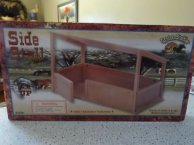 NEW Groton Stables Maxim Wood Horse Side Stall #81029 for Breyer Horses