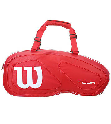 Wilson Tour V Red 6 Tennis Racquet Bag