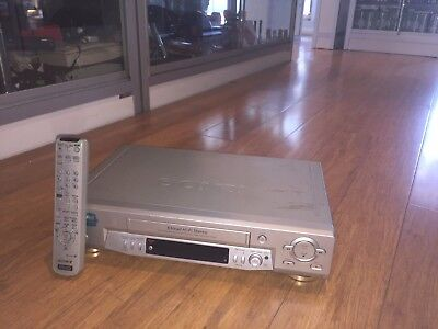 Sony (Slz-Ez715As) 6 Head Hi-Fi Stereo Vhs Recorder With Remote Control !